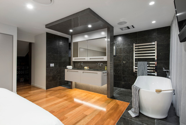 Contemporary queensland bathroom design for Bathroom designs qld