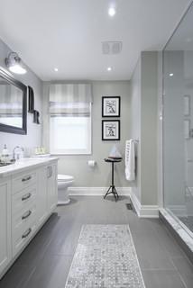 Contemporary REFINED! - Traditional - Bathroom - Toronto - by designYYZ