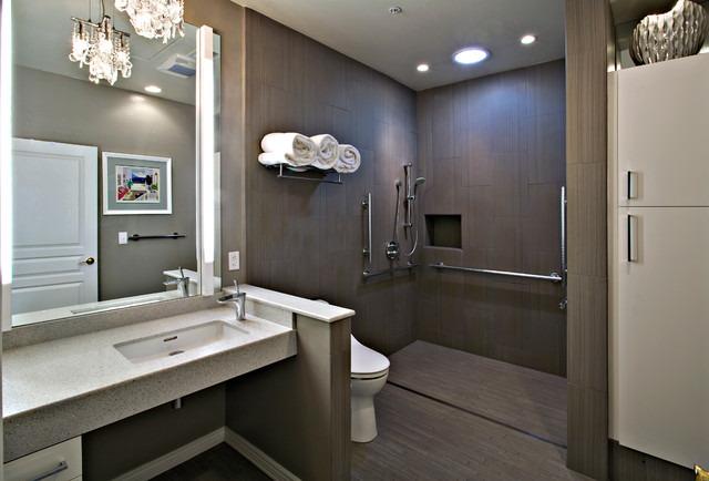 Contemporary Remodel Contemporary Bathroom Phoenix By Carlson Homes Scottsdale
