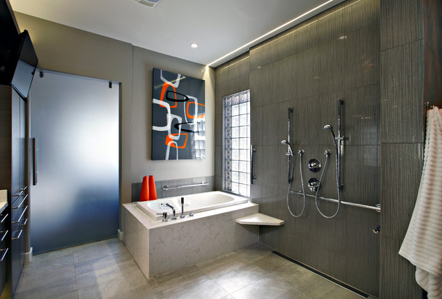 Contemporary remodel in scottsdale contemporary for Bath remodel scottsdale