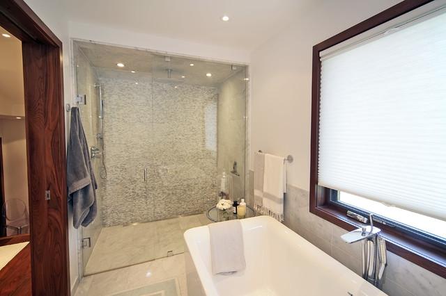 Contemporary renovation addition for 1915 bathroom photos