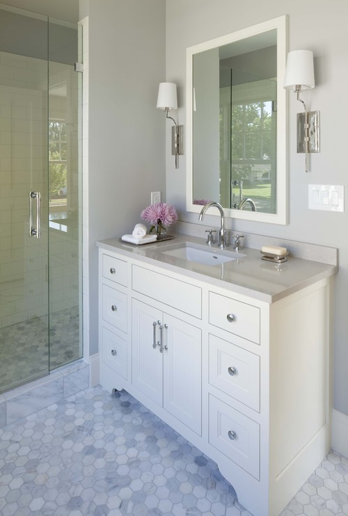 Related Images. Marble Bathroom Floor ...