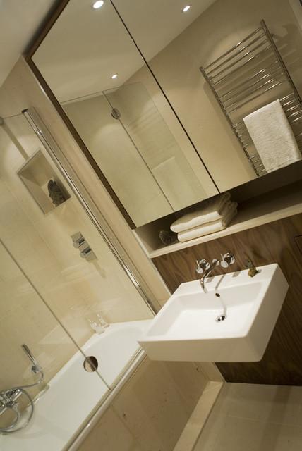 Contemporary Shower Room - Contemporary - Bathroom - london - by Adrienne Chinn Design