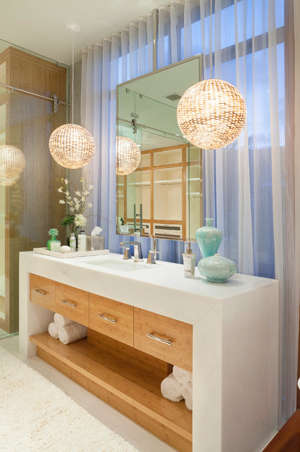 Contemporary Simplicity contemporary-bathroom
