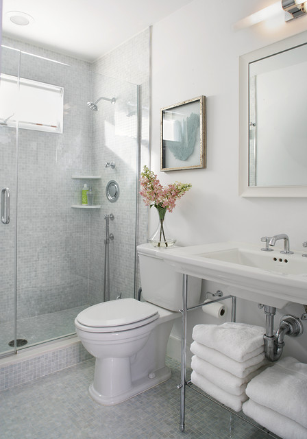 BATHROOMREMODEL BEACH HOUSE Contemporary Bathroom - Bathroom remodeling newark