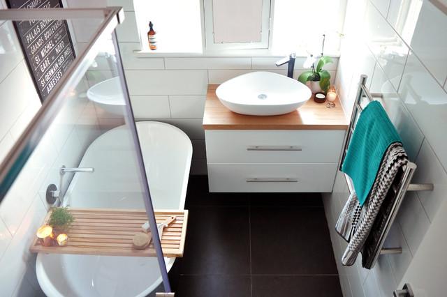 9 contraintes propres aux petites salles de bains for Conception petite salle de bain