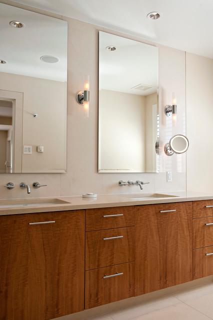 Contemporary Townhouse contemporary-bathroom