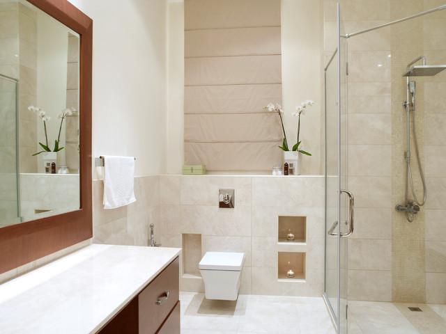 Contemporary Villa - Manama contemporary-bathroom