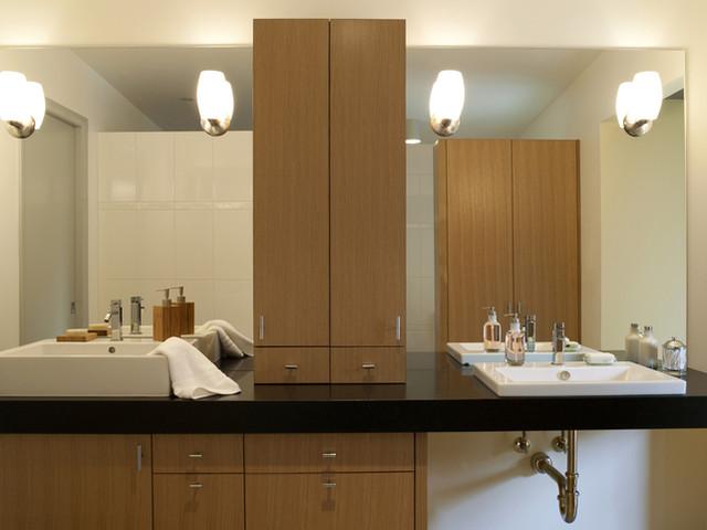 Contour Woodworks contemporary-bathroom