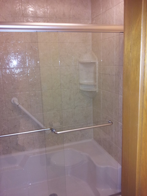 Convert Tub To Bright Walk In Shower Traditional Bathroom Other Metro