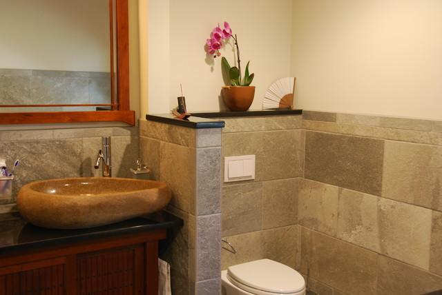 Convert Two Bathrooms Into Zen Bathrooms Asian