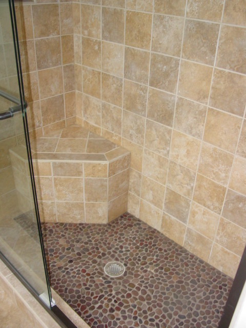 Cook Bros. Arlington Tile and Fixtures - Traditional - Bathroom - DC on 5 foot stand up shower, 4 foot shower ideas, 5 foot tile shower, 5 foot bathroom, 5 foot vanity ideas, 5 foot shower with seat,