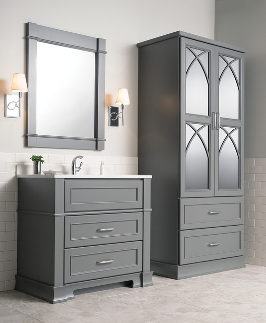 Dura Supreme Cabinetry: Cool And Calming Chapel Hill Bathroom