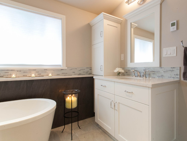 Cool, Calm and Collected contemporary-bathroom
