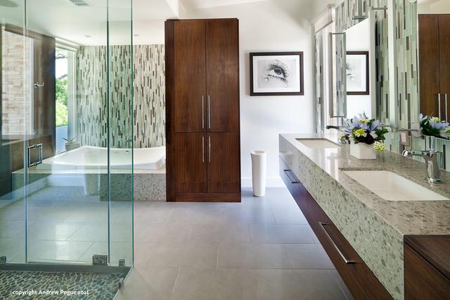 cool house tour 2011 contemporary bathroom austin small bathroom decorating ideas designs hgtv declutter