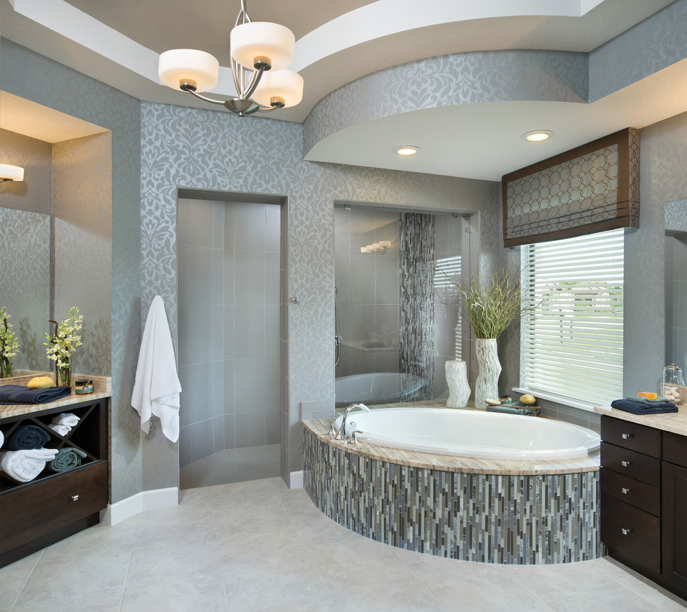 Coquina 1263 - Beach Style - Bathroom - Orlando - by ...