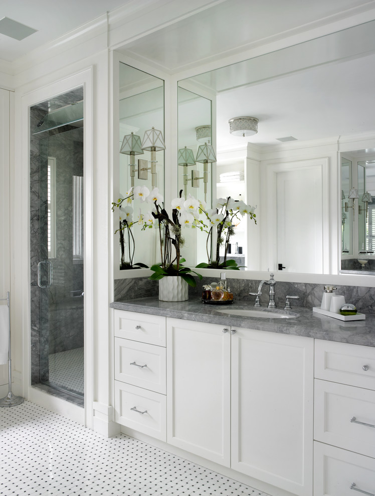 Coral Gables Residence - Transitional - Bathroom - Miami ...