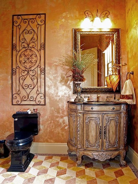 Cordillera Ranch Tuscan Hill Country Home Mediterranean Bathroom Other Metro By
