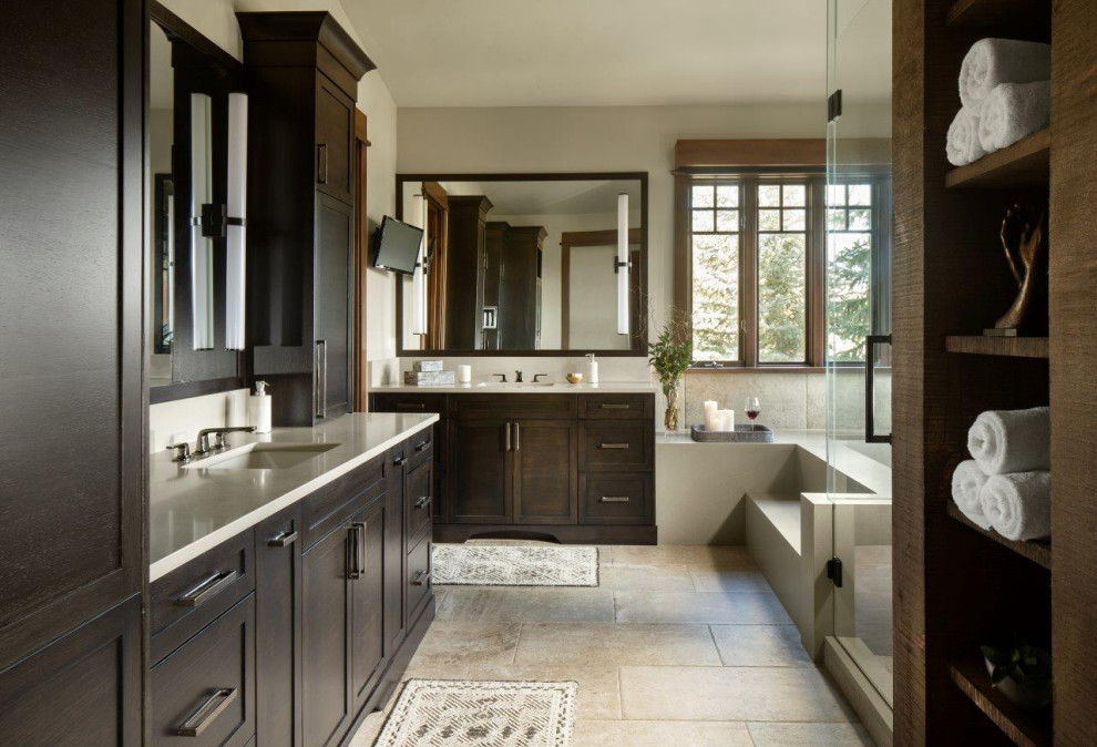 Cordillera Residences - Rustic - Bathroom - Denver - by ...