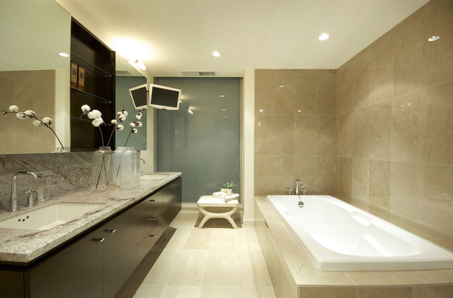 contemporary bathroom by Space Harmony