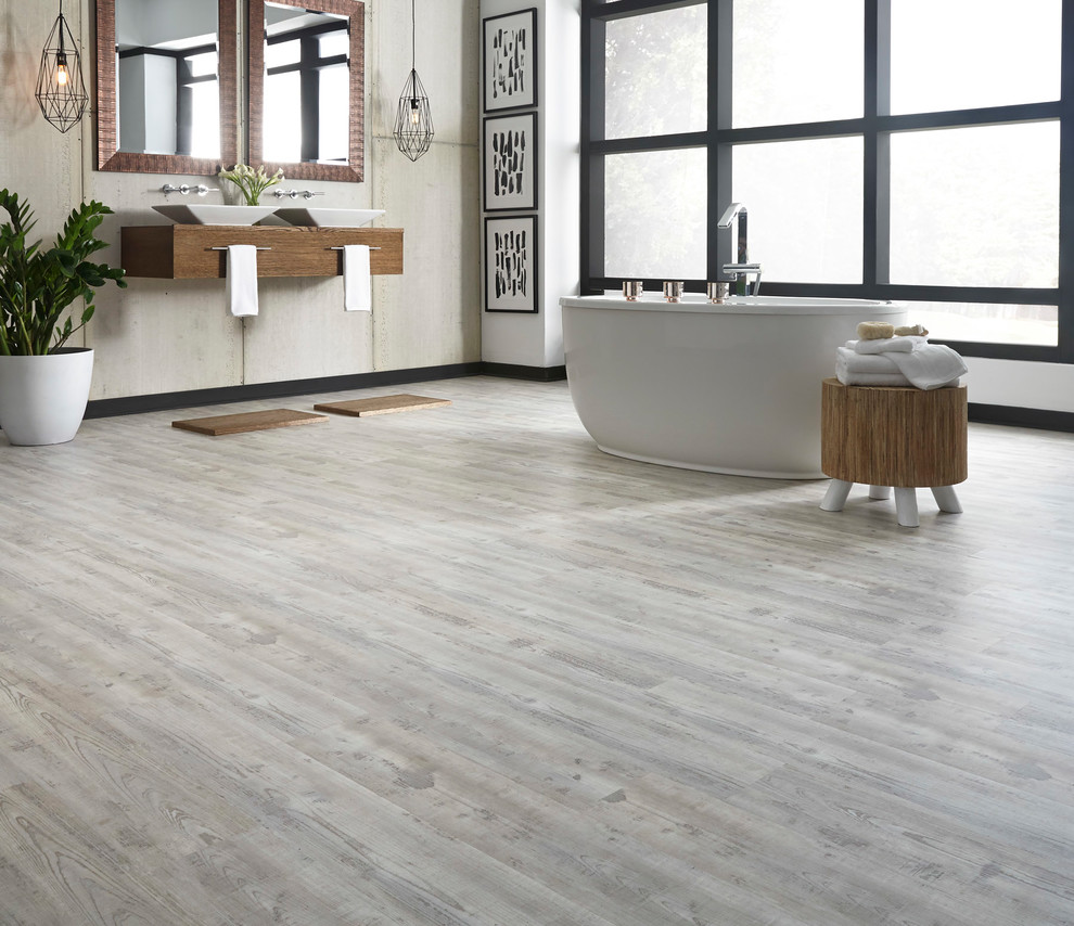 Coreluxe Weathered Gray Pine Evp