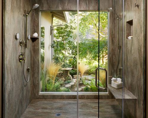 Corian® Rosemary Shower