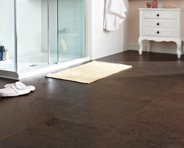 cork flooring modern bathroom by floorsfirst canada. Black Bedroom Furniture Sets. Home Design Ideas