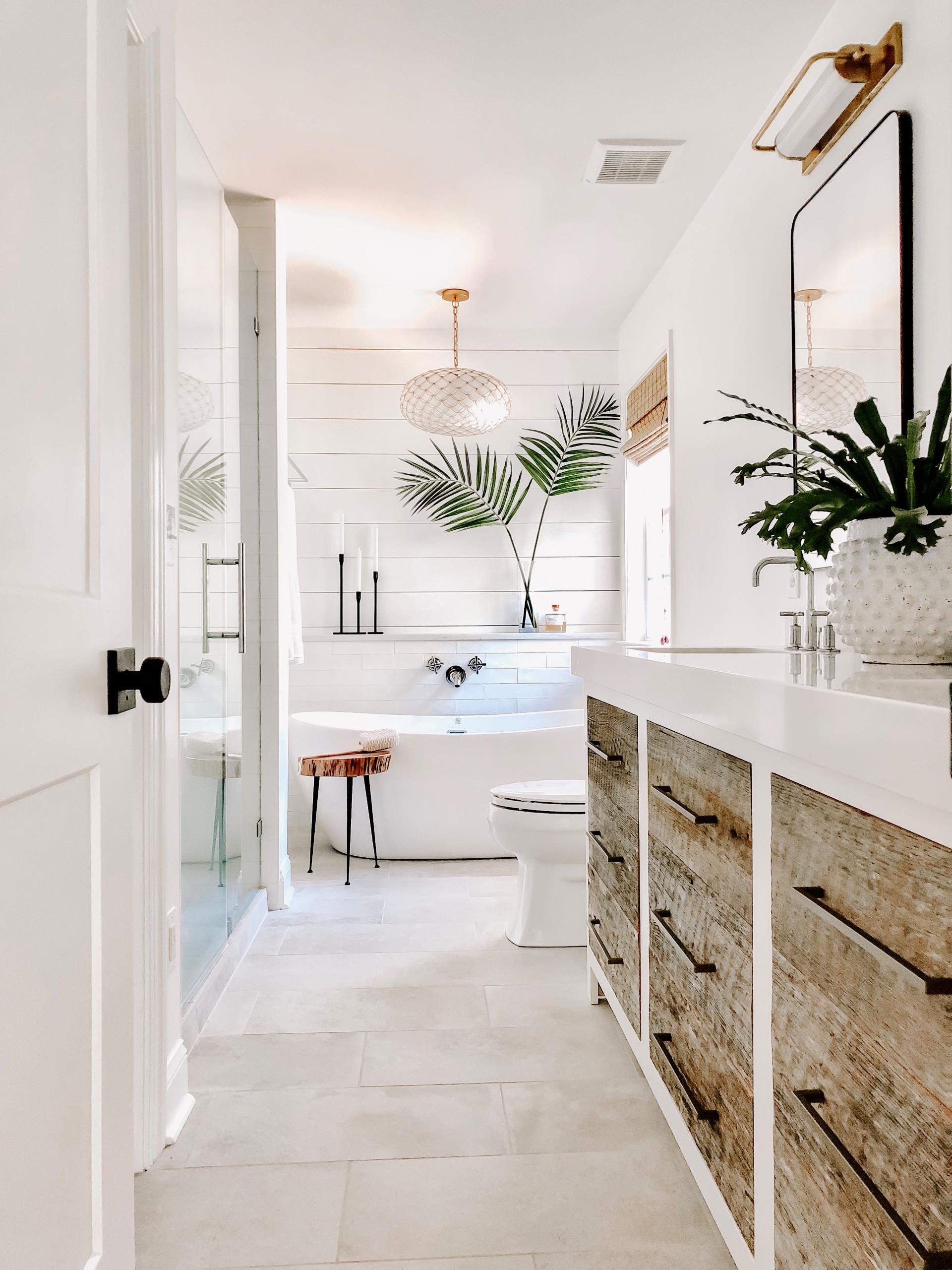 Cornelius master bathroom remodel