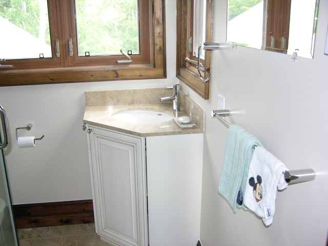 Corner Sink Vanity Bathroom : Corner Bathroom Vanity bathroom