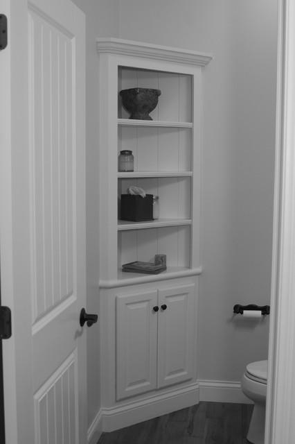 corner cabinet - Traditional - Bathroom - Chicago - by Shane ...