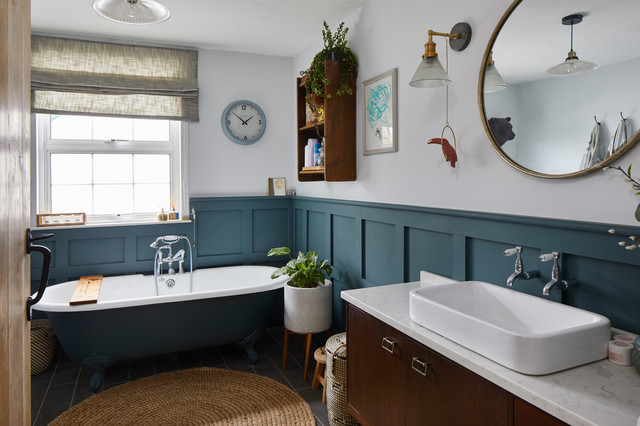 24 Ideas For Using Panelling In Your Bathroom Houzz Ie