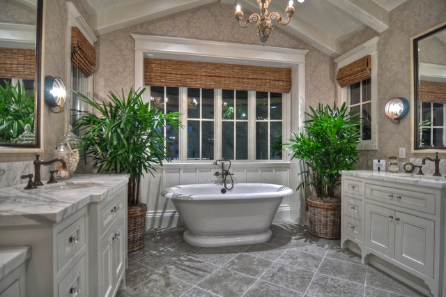 Corona del Mar traditional-bathroom