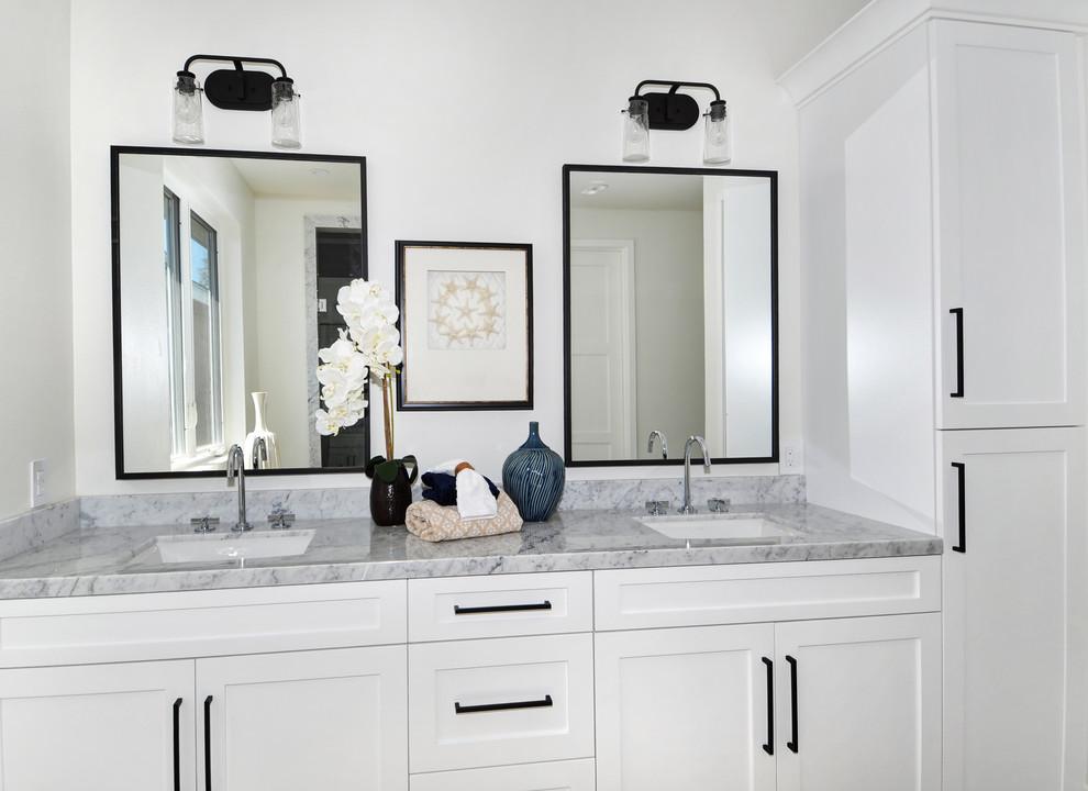 Costa Mesa 6 Houses - Transitional - Bathroom - Orange ...