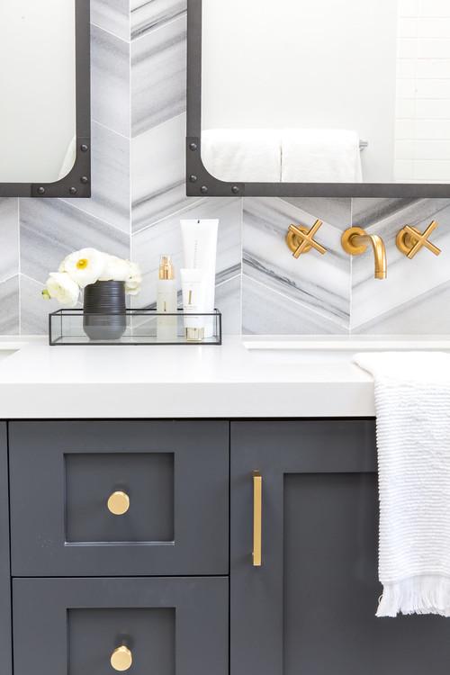 48 Trending Decorating Tips To Try This Week Gorgeous Ann Sacks Glass Tile Backsplash Plans