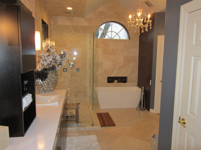 Costanzo Master Bath contemporary-bathroom