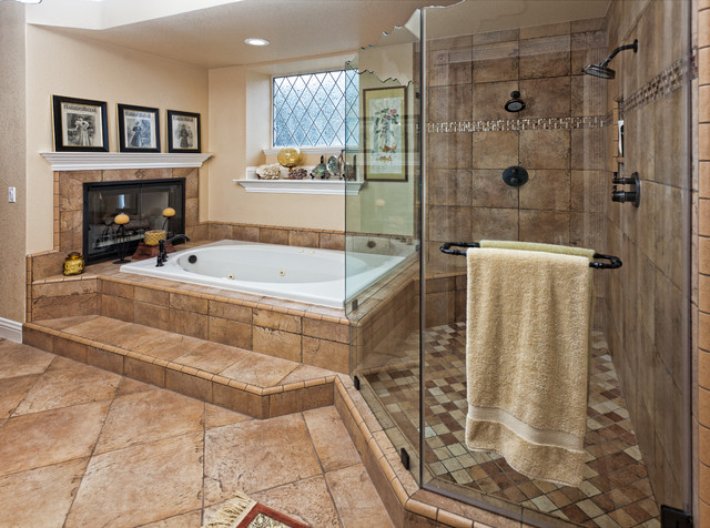 Cotham master bathroom traditional bathroom other for Master bed and bath remodel