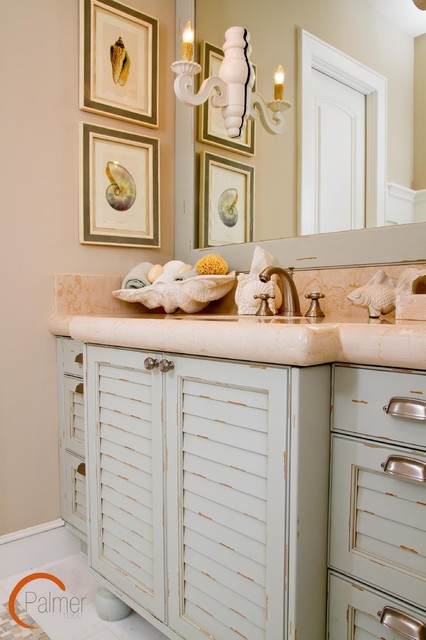 Cottage Casual Beach Style Bathroom Austin By