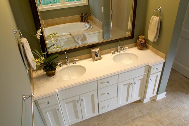 Cottage Master Bathroom traditional-bathroom