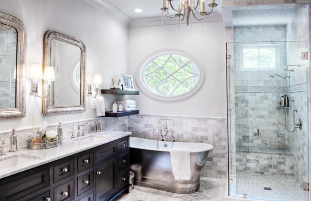 Gabriel builders traditional bathroom other metro for Bathroom remodel 10k