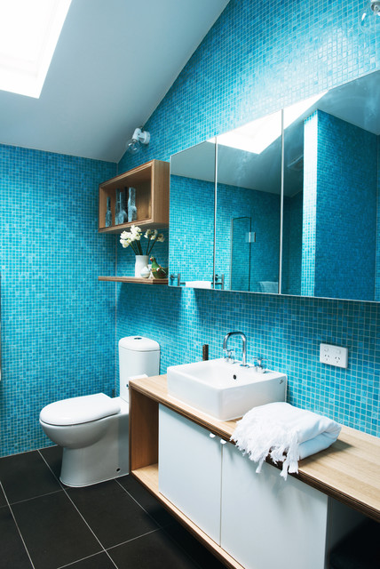 Cottage Place - Contemporary - Bathroom - Melbourne - by Nest Architects