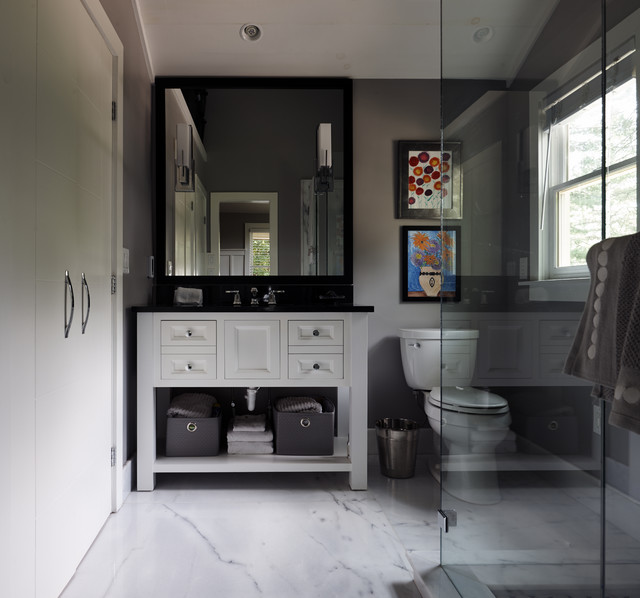 Cottage Row Transitional Bathroom Other By Black Rock Granite And Cabinetry