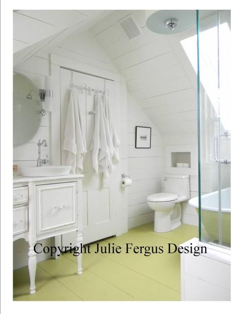 Cottage Style Bathroom bathroom