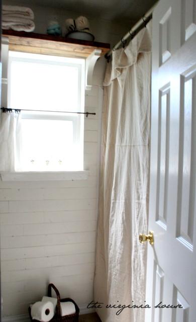 Cottage Style White Bathroom traditional-bathroom
