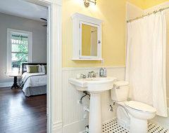 Cottage Yellow Bath traditional-bathroom