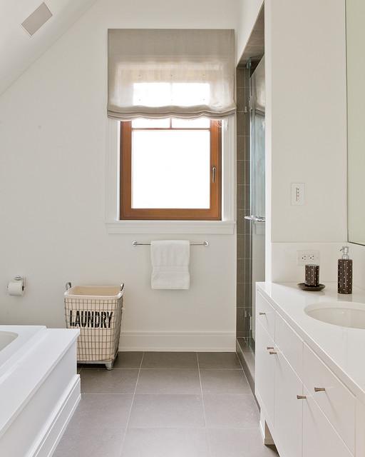 Cotuit Bay Residence contemporary-bathroom