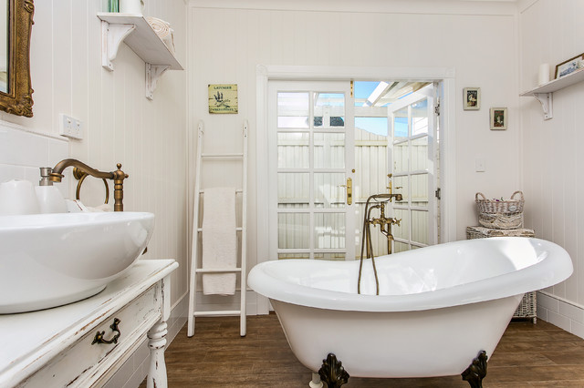 Country Charm Farmhouse Bathroom Newcastle