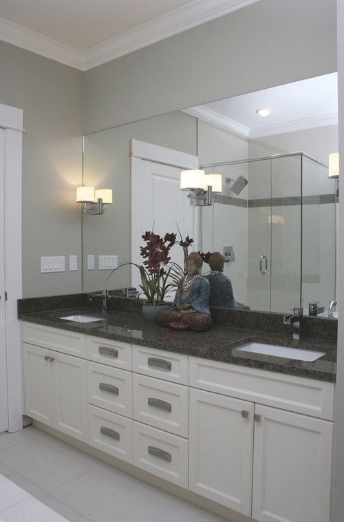 Bathroom mirror and lights - Houzz