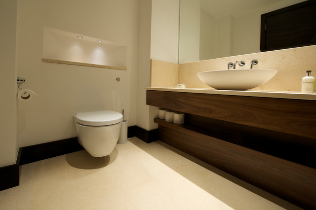 Country estate contemporary bathroom other by for Bathroom cabinets yorkshire