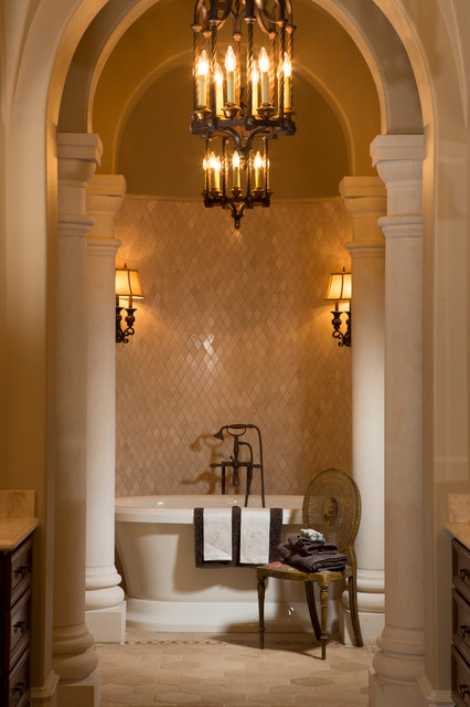 Country french in college station texas traditional bathroom houston by collaborative for Bathroom remodeling college station tx