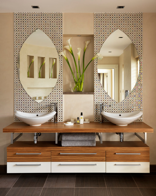 Nice Country House Bathroom Contemporary Bathroom